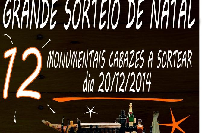 GRANDE SORTEIO CABAZ DE NATAL