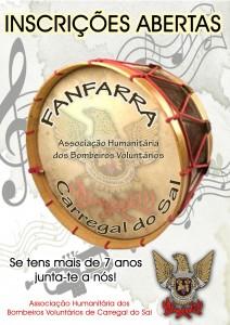 FANFARRA - INSCRIÇÕES ABERTAS